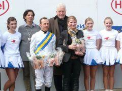 Janine Trybuhl-Brabender, A. Best, Präsident Peter Michael Endres (Foto: Gabriele Suhr)