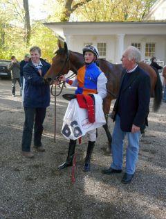 Siegerin Taka Angel mit Koen Clijmans (Foto G. Suhr)