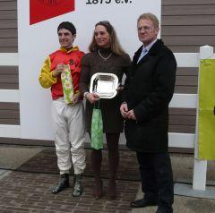 Maxim Pecheur, Marion Weber und Reinhard Ording (Foto Suhr)