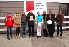 Siegerehrung mit Markus Klug, Andrasch Starke, Dr. Paul, Dennis Schiergen. Foto Gabriele Suhr