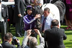 Joseph O'Brien mit So You Think nach dem Sieg in den Prince Of Wales's Stakes. www.galoppfoto.de  - Frank Sorge