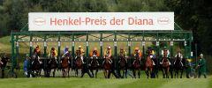 Start zum 154. Henkel-Preis der Diana. www.henkel.com