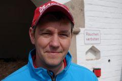 Trainer Markus Klug am 23.06.2014 beim Training in Köln-Heumar. www.dequia.de