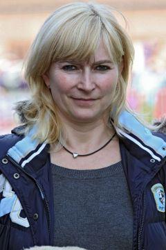 Trainerin Claudia Barsig im Portrait am 27.09.2014 in Dresden. www.galoppfoto.de - Frank Sorge