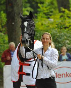 Nun auch Listensieger: Molly le Clou nach dem Großen Preis von Engel & Völkers Junioren-Preis. Foto: Ursula Stüwe-Schmitz