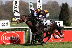 Veneto gewinnt gegen Monaco Show im Stil eines besseren Pferdes. Foto: Dr. Jens Fuchs