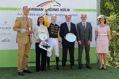 Siegerfoto mit allen Beteiligten (Foto: Dr. Jens Fuchs)