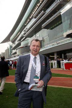 Winfried Engelbrecht-Bresges, der Chief Executive Officer des Hong Kong Jockey Clubs. www.galoppfoto.de