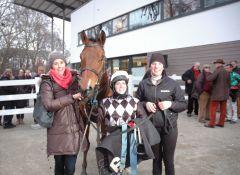 Sieger Worldwide mit Jenny Vietz, Steffi Hofer, Ina Gockel. Foto Gabriele Suhr