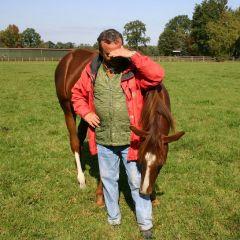 Wunderblume mit Trainer September 2009  Foto: Wöhler