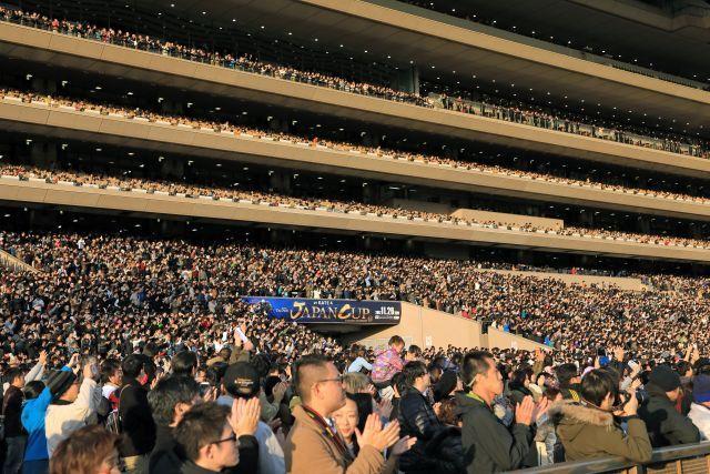 108.522 Besucher waren am Sonntag in Tokio vor Ort. www.galoppfoto - Yasuo Ito