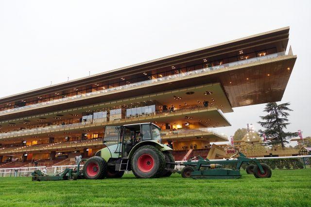 Ohne deutsche Beteiligung finden zwei Grupperennen am Sonntag in Longchamp statt. www.galoppfoto.de - Frank Sorge