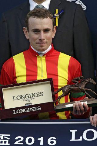 Welches Rating man auch heranzieht: Die Nummer eins bei den Jockeys weltweit ist Ryan Moore. www.galoppfoto.de