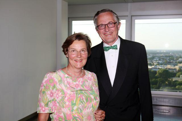 Ingeborg und Bernhard von Schubert. www.galoppfoto.de