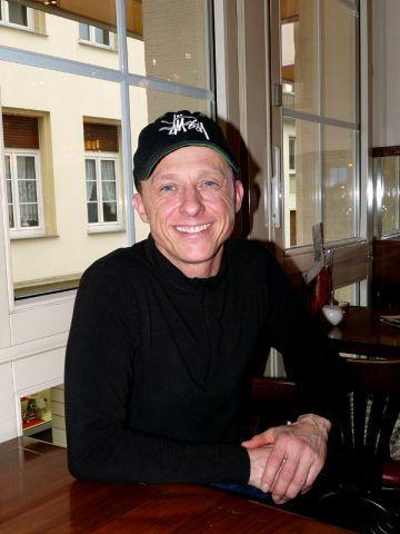 Andre Best beim Turf-Times-Interview in Krefeld. Karina Strübbe
