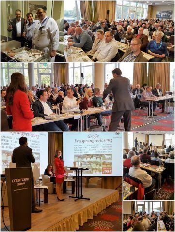 Der Vollblut Experten-Tag in Hannover: Vorträge, Diskussionen und eine attraktive Freisprungverlosung. Fotos: Catharina Wind