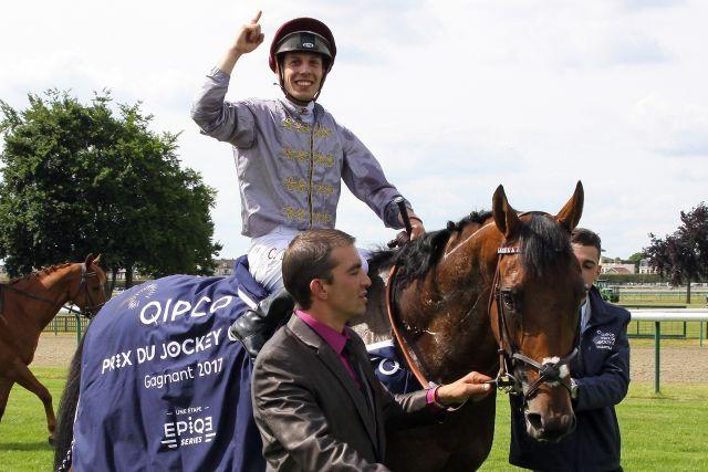 """Brametot, after winning the """"Jockey Club"""", is one of only two new stallions in Germany. www.galoppfoto.de - Sandra Scherning"""