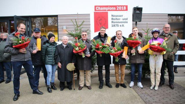 Die Champions 2018 in Neuss. Foto: Dr. Jens Fuchs