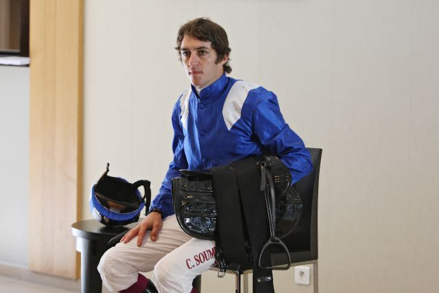 Wurde in diesem Jahr schon 200mal als Sieger ausgewogen: Christophe Soumillon. www.galoppfoto.de - Frank Sorge