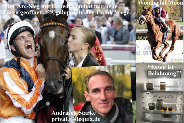 """""""Talking man"""": Andrasch Starke im RaceBets-Podcast. Fotos: galoppfoto.de/dequia.de"""