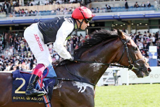 2018 das beste Pferd der Welt? Cracksman unter Frankie Dettori. www.galoppfoto.de