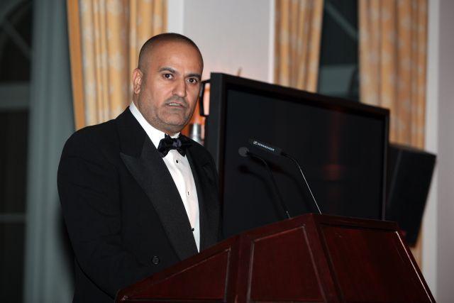 Die offizielle Derbyrede, die der Besitzer des Vorjahres hält, wurde im Auftrag von Scheich Mohammed Al Maktoum von Saeed Al Tayer vorgetragen, der Chairman der Rennbahn Meydan in Dubai. www.galoppfoto.de