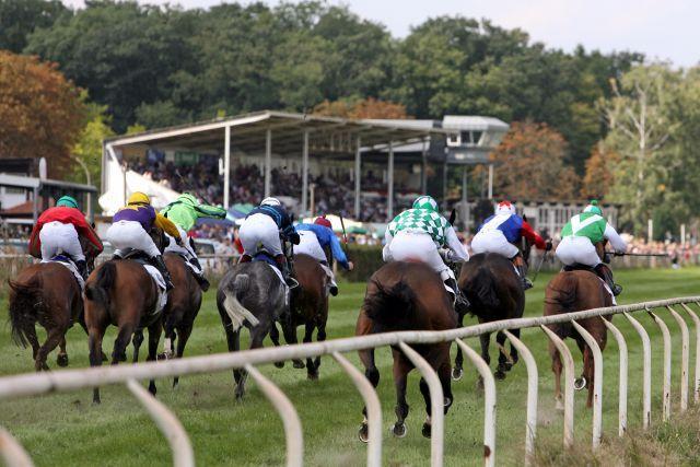 Fast alle deutschen Top-Jockeys steigen am Freitag in Hassloch in den Sattel. www.galoppfoto.de