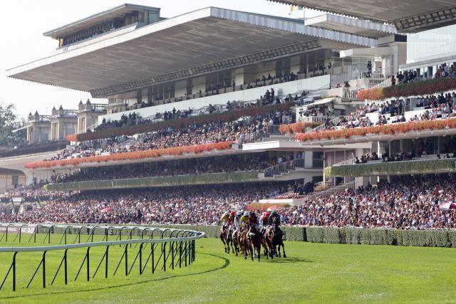 Die Rennbahn in Longchamp soll für 122 Millionen Euro umgebaut werden. www.galoppfoto.de - Frank Sorge