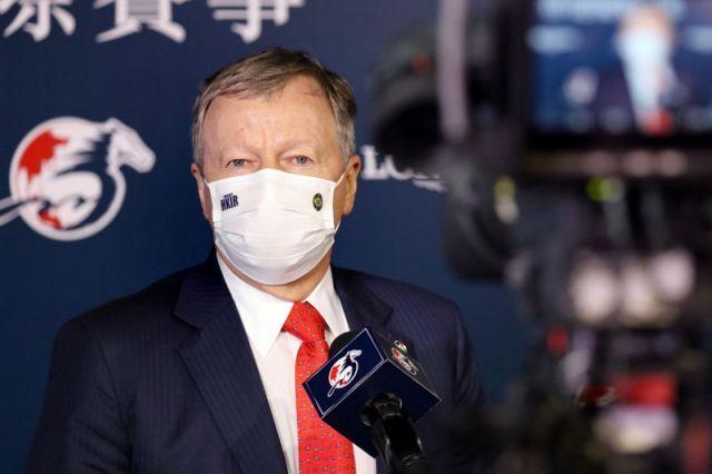 Winfried Engelbrecht-Bresges, CEO des HK Jockey-Clubs, konnte positive Zahlen verkünden. Foto: HKJC