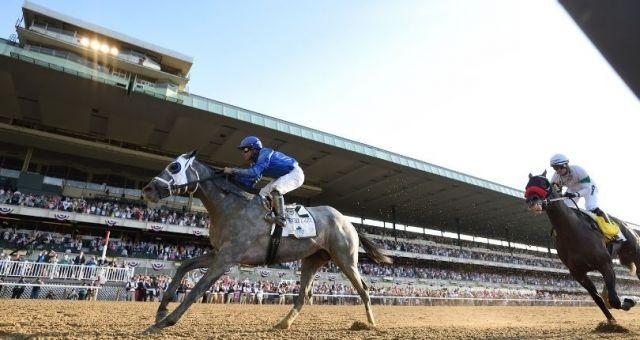 Essential Quality krönt in den Belmont Stakes einen großen Godolphin-Tag. Foto: courtesy by Belmont Park
