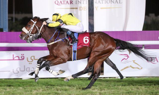 Full Moon überrascht im Qatar Derby. Foto: offiziell