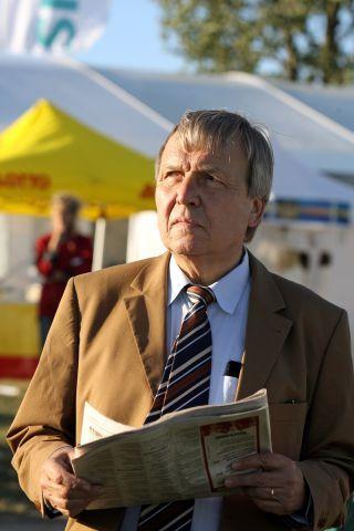 Hans-Ludolf Matthiessen, Schatzmeister des Hamburger Renn-Clubs, freut sich über die Kooperation mit der PMU. www.galoppfoto.de