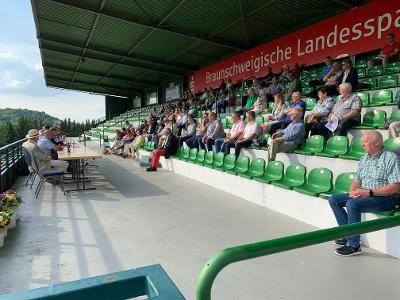 Unter freiem Himmel: Die Jahreshauptversammlung in Bad Harzburg. Foto: privat