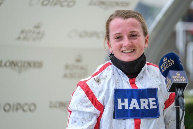 Hollie Doyle in Royal Ascot. Foto: Ascot Racecourse/Racenews
