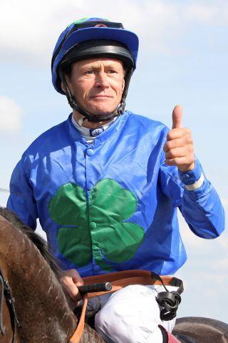 Beendet seine Jockey-Karriere: Pascal van de Keere. www.galoppfoto.de - Frank Sorge