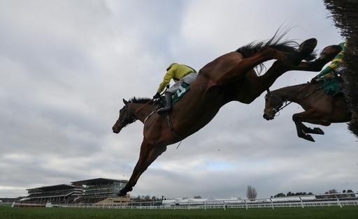 Der Flemensfirth-Sohn Lostintranslation springt zu Neujahr zum Sieg auf Gr. II-Ebene in Cheltenham. Foto: offiziell