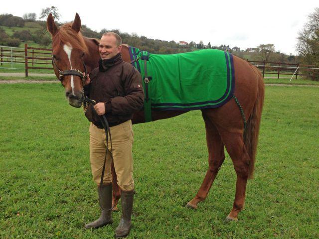 Jetzt geht für Murcielago und seinen Trainer Matthias Keller die Reise nach Longchamp. Foto: privat