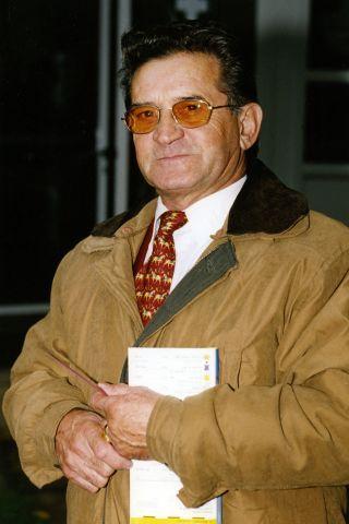 Miki Melnicki in einer Aufnahme aus dem Jahr 2000. www.galoppfoto.de