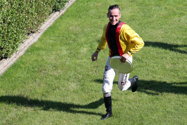 Rene Piechulek in Iffezheim. www.galoppfoto.de
