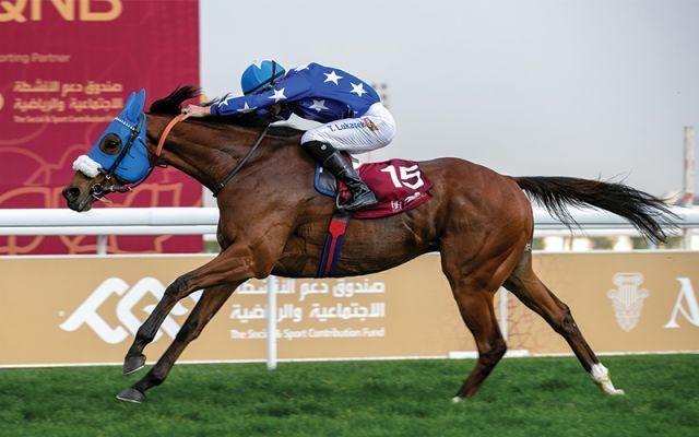 Woodkid kommt am vergangenen Samstag zu seinem vierten Sieg in Doha. Foto: offiziell