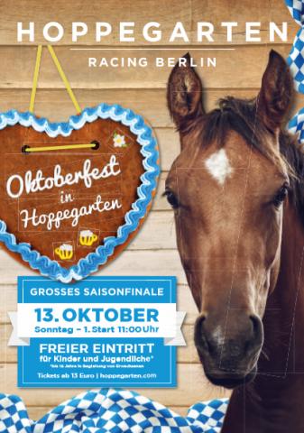 Beim Saisonfinale in Hoppegarten geht es zünftig zu ... www.hoppegarten.com