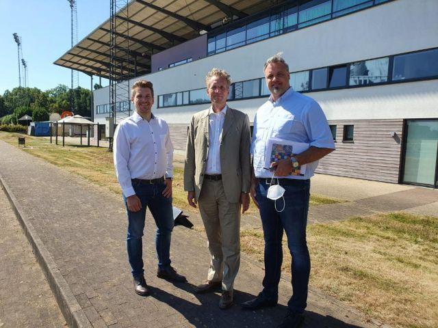 Marc Troellsch, Jan Pommer und Andreas Grau (v. re.). Foto: offiziell