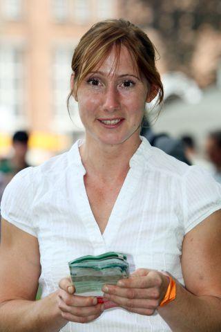 Trainerin Nina Bach. www.galoppfoto.de