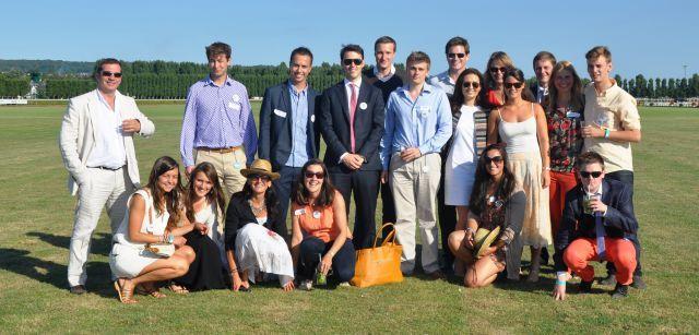Treffen der jungen Turf-Generation in Deauville mit Vertretern von German Racing Next Generation. Foto: offiziell