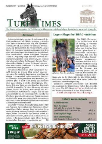 Der neue Newsletter, Ausgabe 687, zum Download bereit!