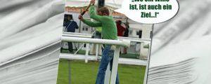 137 - 03.07.2013: Auch ein Derby braucht ein Ziel ...  ©Silvia Göldner