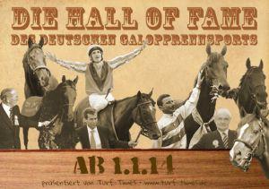 Die Hall of Fame des Deutschen Galopprennsports bei Turf-Times. www.turf-times.de