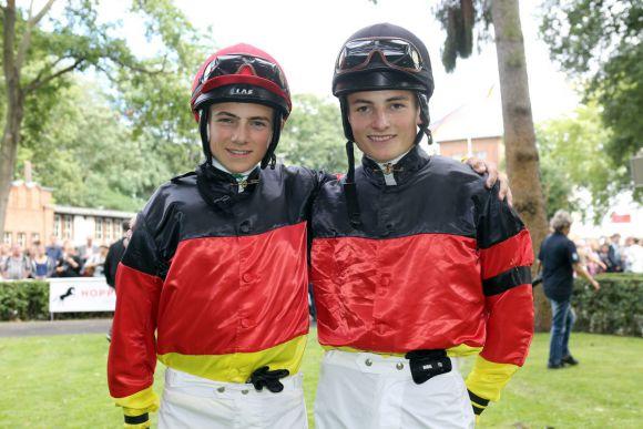 Mittlerweile hat Dennis Schiergen mit Bruder Vinzenz familiäre Konkorrenz bekommen. Foto: www.galoppfoto.de - Frank  Sorge