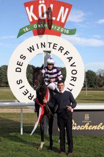 Auf Isfahans Spuren? Langtang ist Derbyfavorit für einen Winter. www.galoppfoto.de - Sandra Scherning