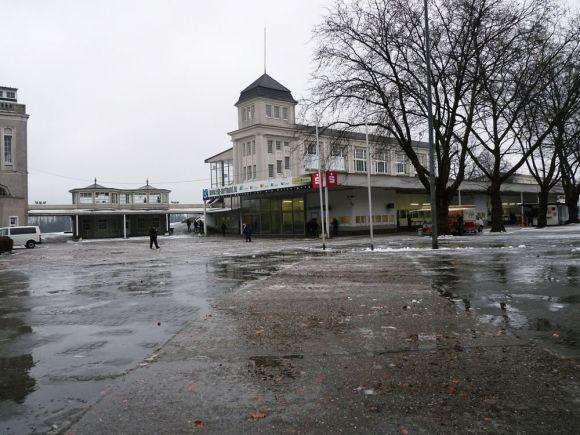 Wenig einladendes Wetter beim Rennbahncheck in Dortmund - passend zu den Winterrennen also. Karina Strübbe